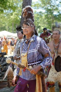 Mashpee Wampanog Tribal Chief Lopez