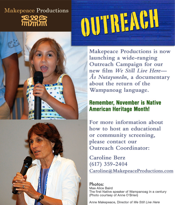 Makepeace Productions Outreach Program