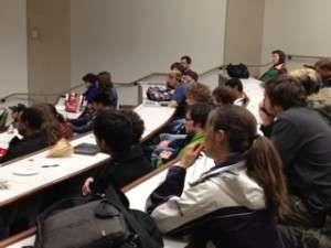 Students at Chapman U