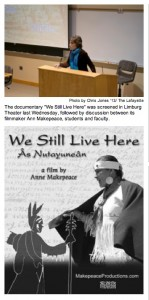 WE STILL LIVE HERE screens at Lafayette College